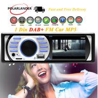 """3"""" HD 1 Din Car DAB+ Radio Stereo In-Dash Bluetooth FM  AUX USB WMA MP5 Player"""