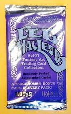Vtg Lee MacLeod Sci-Fi Fantasy Art Trading Card Collection Pk~Autographed Bonus