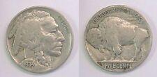 1934 P Buffalo Nickel Fine Plus F +