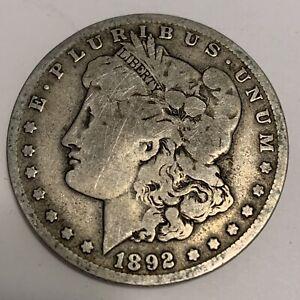 1892 O $1 Morgan Silver Dollar