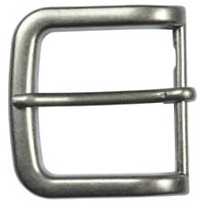 """Silver Finish Pin Buckle Fits 1-1/2"""" Belts - The Belt Shoppe"""