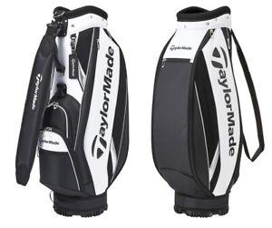 TaylorMade 2021 TRUE-LITE Golf Caddie Bag 9In PU 5Way 6.2lbs M72305 White/Black