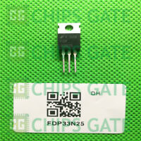 6PCS FDP33N25 Encapsulation:TO-220,250V N-Channel MOSFET