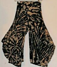 NWT Sacred Threads Tie Dye Cotton Gypsy Bohemian Palazzo Pants