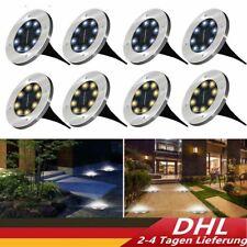LED Solarleuchte Bodenstrahler Außen IP65 Gartenleuchten Garten Solarlampen
