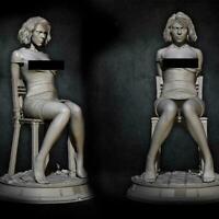 Black Widow Unlackierte Beauty Woman 1/24 Resin Figure Kit Model Unmontiert W1E3