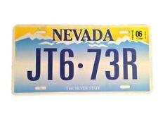 Sleepless Novak (Scoot McNairy) Movie Prop Nevada License Plate