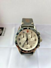 Victorinox Swiss Army 241126 Men Watches : Chronograph Classic Leather Strap