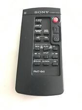 Sony Original HVR-Z1U Z1U RMT-841 Wireless Remote Commander Genuine