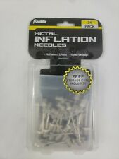 Franklin Metal Inflation Needles 24 pack with carrying case