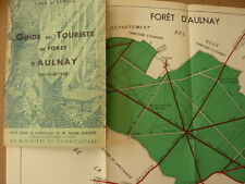 GUIDE du touriste en forêt de AULNAY (Deux Sevres)- 1937