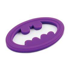 Bumkins DC Comics Batgirl Purple Silicone Baby Teether