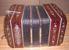 seltenes ELA Bandoneon 130tönig ERNST LOUIS ARNOLD Bandonium Bandonion Bandoneum