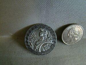Aztec Warrior pin Popocatépetl pin Aztec hat pin lapel pin shirt pin jacket