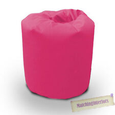 Pink Cotton Beanbag Bean Bag Large Filled Gaming Student Dig Budget Furniture