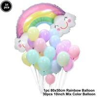 Cloud Wedding Birthday Ballons Latex Foil Balloon Kids Boy Girl Baby Party Decor