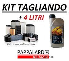KIT 3 FILTRI TAGLIANDO + OLIO 5W30 OPEL CORSA D 1.2 GPL TECH 59KW 80CV DAL 2011