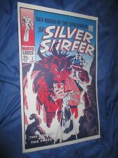 SILVER SURFER #3 Vintage Print w/Art by John Buscema ~MARVEL FOOM 1st Mephisto