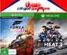 Forza Horizon 4 & NASCAR Heat 3 Xbox One XB1 Bundle Game Brand New & Sealed
