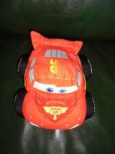 Doudou Disney Nicotoy Voiture Cars Rouge Flash Mac Queen 20 CM Etat Neuf