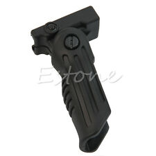 3 Position Foldable Hunting Foregrip Front Grip for Picatinny/Weaver Rail Type