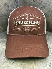 Browning Atlus Brick Baseball Cap 308398721 Hook & Loop Closure
