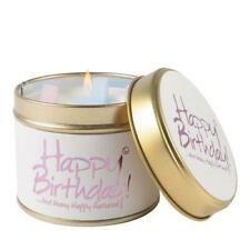Lily Flame Happy Birthday Scented Candle Tin