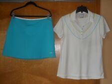 New listing Golf Outfit Slazenger Stretch Skort M & Callaway Opti-Dri S/S Shirt Top Size L