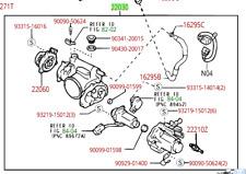 Lexus LX470 (1998-2002) OEM Genuine COMPLETE THROTTLE BODY Assembly 22030-50142