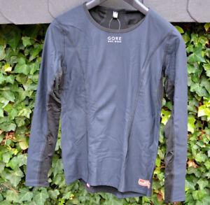 GORE BIKE WEAR Base Layer Woman Function Vest Stormstopper Thermal Black Ls