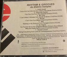ELEKTRA: Rhythm & Grooves - NM 1998 R&B Sampler - En Vogue, Keith Sweat, Silk