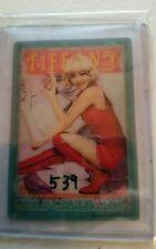 snsd tiffany  7-11 japan  photocard card Kpop K-pop SHIPPED IN TOPLOADER