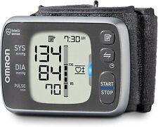 Omron 7 Series Wireless Wrist Blood Pressure Monitor Works with Amazon Alexa NEW