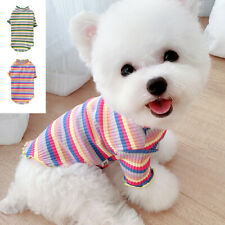 Pet Cat Puppy T Shirt for Small Dogs Teacup Pomeranian Chihuahua Clothes Vest