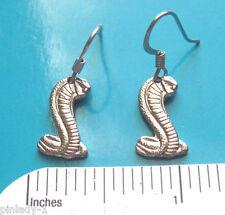 COBRA SNAKE  - earrings  , ear rings GIFT BOXED