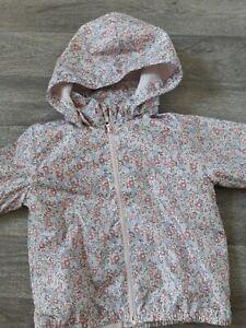 Baby Girls - Summer ..Autumn Raincoat - 18 - 24 Months - Floral - H&M