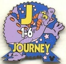 Disney Pin: WDW Cast Lanyard Series #3 Epcot Parking Signs With Figment Journey