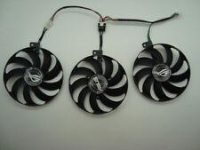 3 Pcs Fans For ASUS ROG STRIX-GeForce RTX  2080 Ti GAMING RTX2080 RTX2080Ti 6Pin