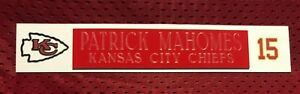 PATRICK MAHOMES  NAME PLATE FOR HELMET / FOOTBALL/ CARD /JERSEY / PHOTO