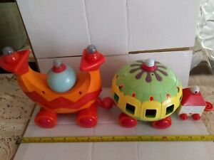 In the Night Garden BIG Light Sounds NINKY NONK Train TOY - NO Caboose Car