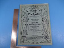 History of The Civil War by Benson J. Lossing Illustrated Section 7 1912 L450
