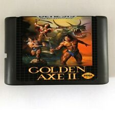 Golden Axe II 16-Bit Fits Sega Genesis Mega Drive Game