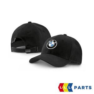 NEW GENUINE OFFICIAL BMW COLLECTION LOGO EMBLEM PEAKED ADJUSTABLE CAP 2411103