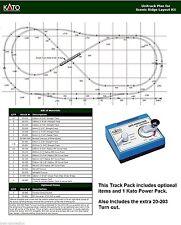 Kato N Scale Unitrack Plan Track Set - for the Woodland Scenic Ridge Layout