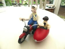 VINTAGE ORIGINAL COLLECTORS WALLACE AND GROMIT MOTORCYCLE & SIDECAR   1580118/24
