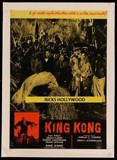 "Original KING KONG Italian Photobusta 18 3/4"" X 26 1/2"" Linenbacked WRAY & CABOT"