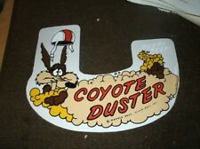 1969 PLYMOUTH DUSTER COYOTE DUSTER FACTORY AIR CLEANER TOP LID DECAL