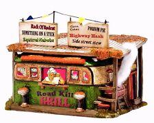 The Roadkill Grill Dept 56 Snow Village Halloween 4044882 NIB restaurant haunted