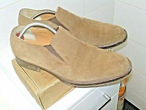 """JONES """"FENTON"""" Brown Suede Slip on Shoe SZ UK 8General wear to heelsGood conditi"""