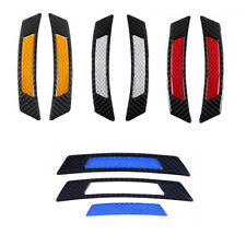2Pcs Car Door Edge Guard Reflective Sticker Tape Decal Safety Warning 4 Colors